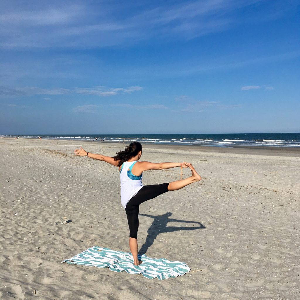 Kiawah Island Private Yoga Teacher Jenny Stevens Folly Beach