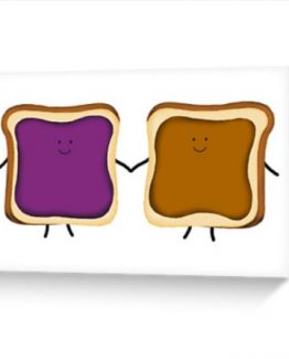 peanut butter and jelly card birthday best friend