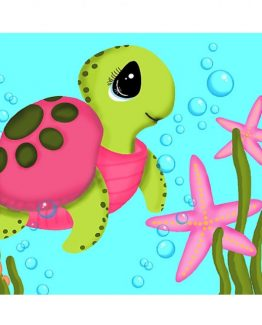 sea turtle baby nursery wall art decor home bathroom art low res