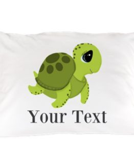 sea turtle ocean pillow case bedding home decor bedroom