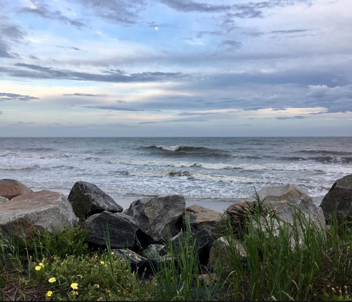 The Washout Folly Beach – Before the Storm
