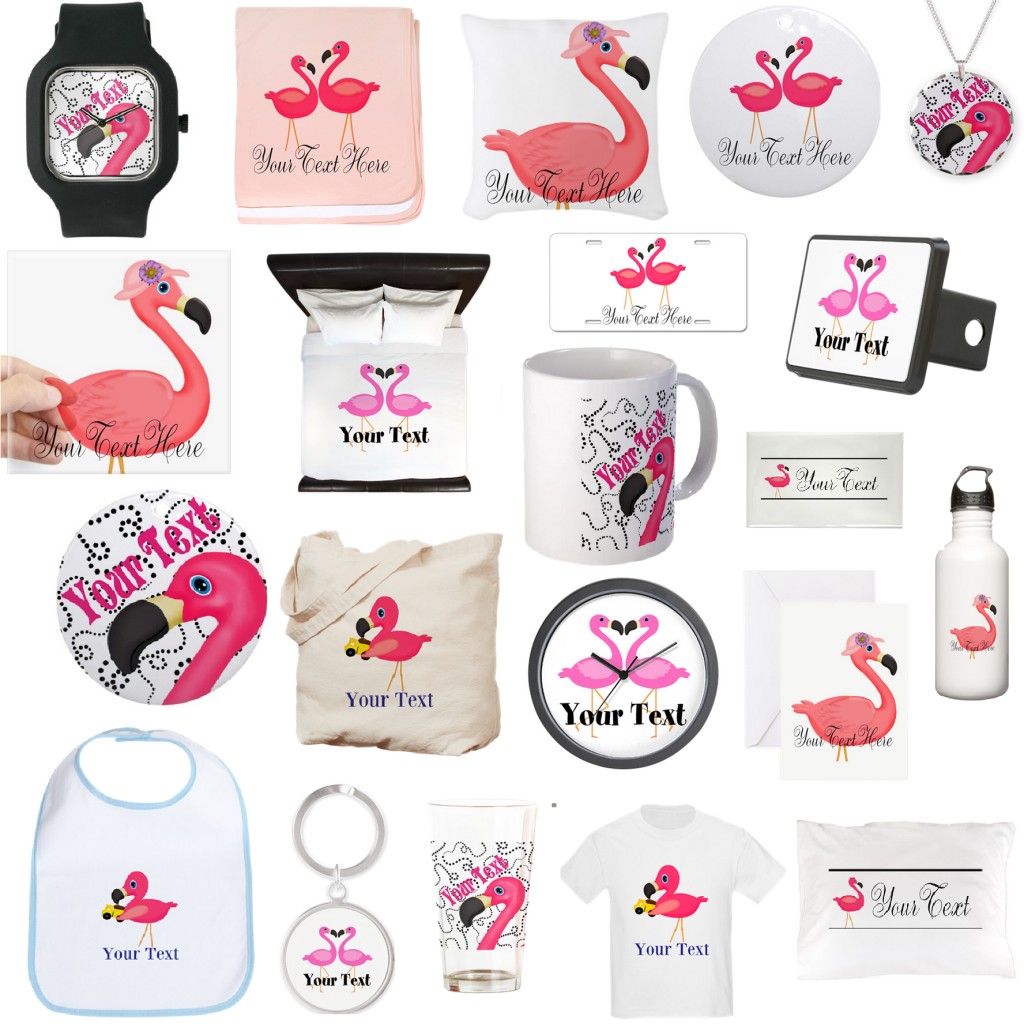 pink flamingo gifts jewelry custom gift flamingos beach decor home blog post