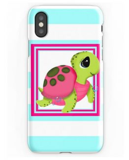 sea turtle iphone case x 8 7 6 5 5s beach ocean pink girly