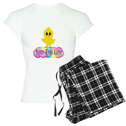 Easter Pajamas outfit Custom Eggs Chicken chick spring