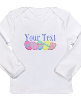 Easter shirt bunny custom name cute baby