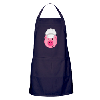 pig apron kitchen decor