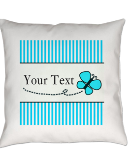 blue butterfly pillow decor bedding bedroom