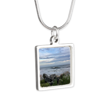 folly beach necklace jewelry the washout ocean waves