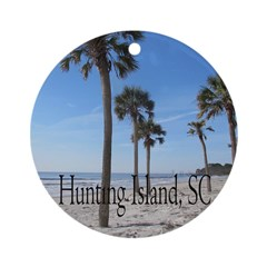hunting island SC christmas ornament gift