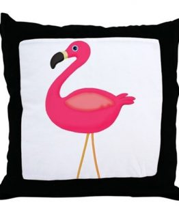 pink flamingo pillow bedding decor home