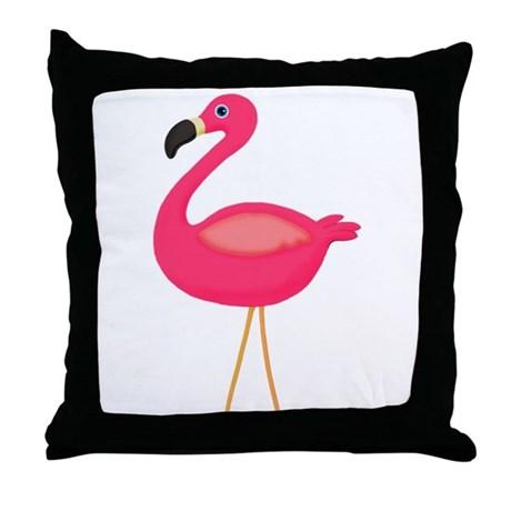 pink flamingo pillow bedding decor home